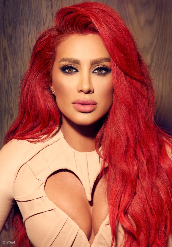 Maya Diab Is Very Serious About Valentine's Day